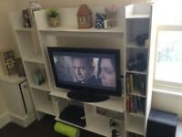 IKEA bookshelf and tv unit. Free if you can collect