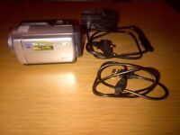 Sony handycam with 60Gb memory. Comes with charger and usb cable.
