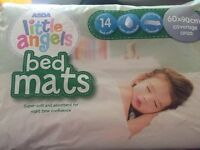 Pink Cot Bed Bedding (Girls) and Brown Cot Bedding (Boys)