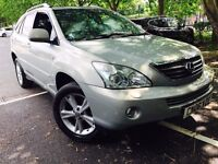 LEXUS RX400H SE-L RX 400H WITH FULL LEXUS HISTORY NOT BMW X5, MERCEDES ML , HONDA CRV OR TOYOTA RAV