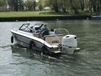 NEW Silver AluFirbe Eagle BR - Unsinkable with a Suzuki 115hp Outboard