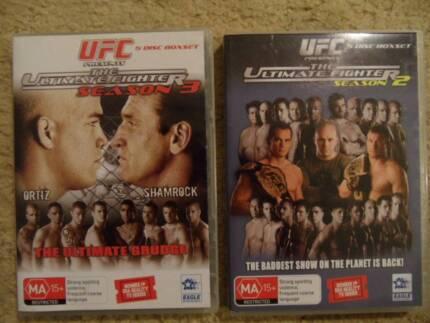 UFC THE ULTIMATE FIGHTER Season 2 & Season 3 /      10 discs Birkdale Redland Area Preview