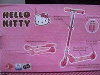 new Hello Kitty Kids-Scooter