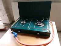 Gelert 2 burner gas camping stove