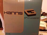 "Hanns G 17"" tft lcd monitor"