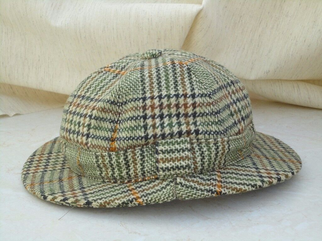 Deerstalker - Christys London Brown tweed, size medium VGC £10