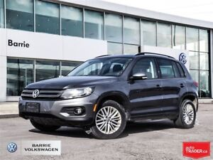 2016 Volkswagen Tiguan Special Edition; Well equipped, AWD bluet