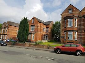 1 bed ground floor flat available on Delaunays Road, Crumpsall, Manchester. DSS welcome.