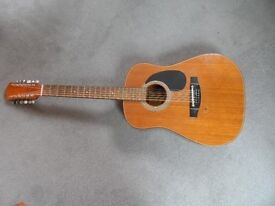 Harmony 12 string acoustic guitar