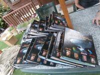 SET OF THE OFFICIAL STAR TREK FACT FILES 16 VOLUMES