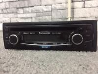 CARS CD PLAYER Panasonic CD Player/MP3 In Dash Receiver