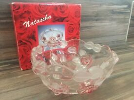 Walther-Glas Satin Rose Bowl