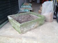 Garden trough