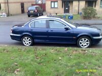 2002 jaguar x type lovley condition extensive service history 2owners from new