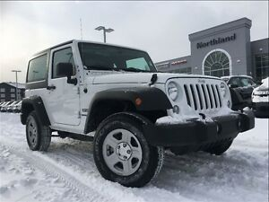2015 Jeep Wrangler Sport 3.6L V6 Pentastar 6 Speed Manual