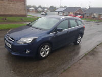 2012 FORD FOCUS ZETEC TDCI DIESEL ESTATE, 1 OWNER
