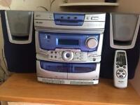 Bush music stereo cd/cassette