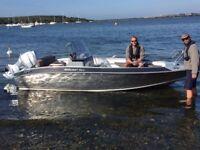 Silver AluFibre Boats For Sale