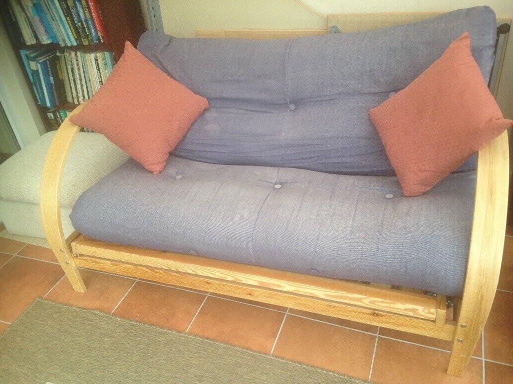 Groovy Futon Sofa Bed Double In Wolverhampton West Midlands Machost Co Dining Chair Design Ideas Machostcouk