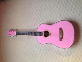 Girls 3/4 acoustic guitar