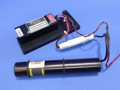 Melles Griot 05-lhp-214 0.5mw 632.8nm Hene Laser Jds Uniphase Power Supply