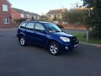 **REDUCED**2003 toyota rav4 xt3 vvti 2.0 111k miles FSH june 17 mot . ac sunroof leather