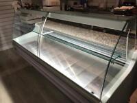 Two metre Serve Over Deli Counter Slimline Good condition