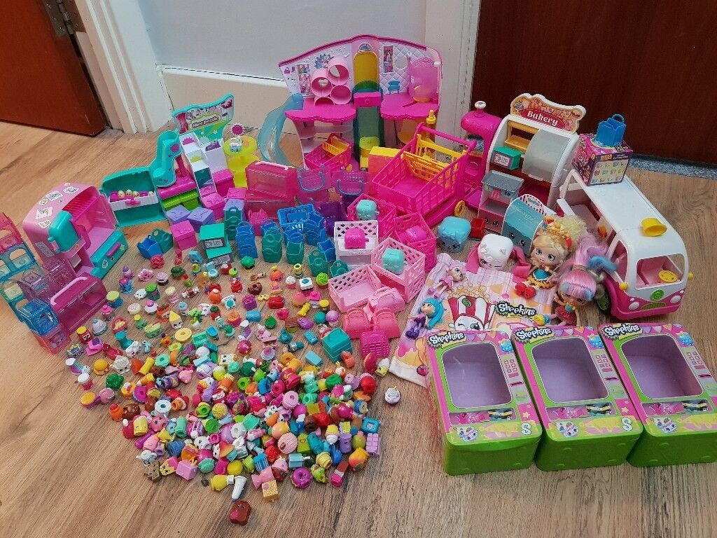 Shopkins Toy Bundle
