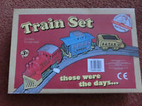 Prof Warbles - Those Were The Days Wind Up Train Set Ideal Starter Set for Children Toddlers Babies