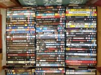 130 DVD's + 4 box sets; Job lot perfect for Car Boot