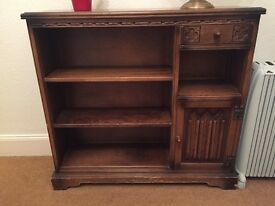 Old Charm Cabinet and shelving unit