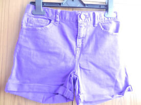 Gap Girl's Shorts Purple