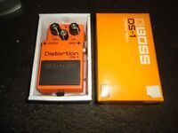 BOSS DS-1 DISTORTION PEDAL - With original box
