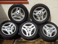 Land Rover Freelander 1 Wheels and Tyres