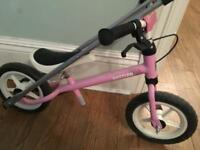 Kettler Balance Bike with balance buddy