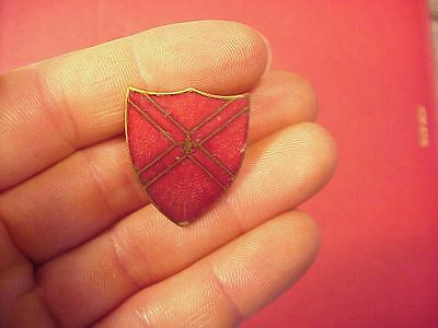 Wwii Or Prior 13Th Coast Artillery Dui   Di Division Insignia   Am  Metal Craft