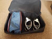 Nike size 9 astroturf boots , England boot bag, Nike football training bag