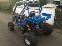 150cc of road buggy gokart not quad