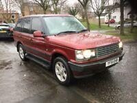 Range Rover matalic red 2.5 diesel