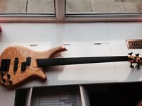 FOR SALE - Very Rare 80's Bass Collection Fretless Bass Guitar (Japanese SGC NANYO)