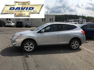 2011 Nissan Rogue SV FWD 5DR, HSEATS, STCTRL, AC, LCL TRD