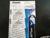 Lionel Richie concert tickets HOVE block AA near the front