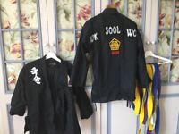 Children's Kuk Sool Won outfits