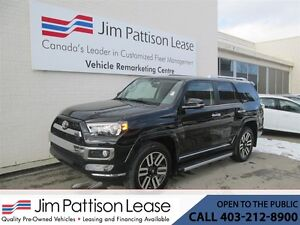 2016 Toyota 4Runner 4.0L 4X4 Limited w/ NAV! Leather & LOW KM's