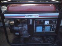 Clarke fg3000 generator