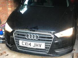 Damaged Audi A3