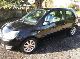 Ford Fiesta Style 2007 Black 63k miles alloy wheels