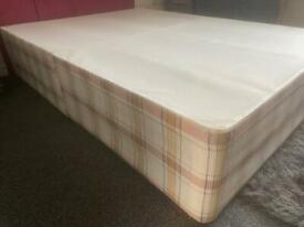 Double Divan Bed - Can Deliver