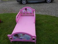 A Lovely Pink Bed+ Childs Mirror