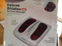 Deluxe shiatsu full foot massage